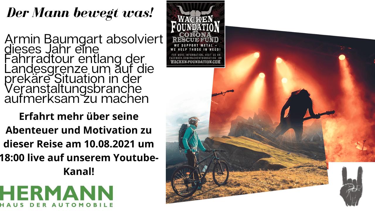 Armin Baumgart – Der Mann bewegt was!